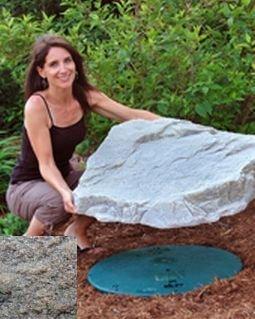 Mock Rock - Dekorra 108-RB Rock Enclosure Model, Riverbed