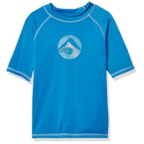 Kanu Surf Boys Toddler Paradise UPF 50 Sun Protective Rashguard Echelon White 4T