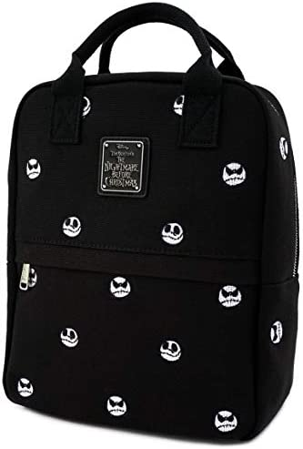Loungefly x Nightmare Before Christmas Jack Skellington Embroidered Canvas Backpack