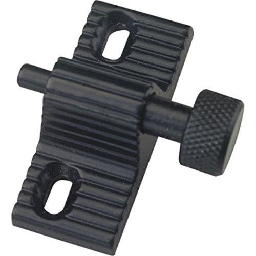 CRL S4003B Black Twist-In Door Lock - Bulk 10/Pk