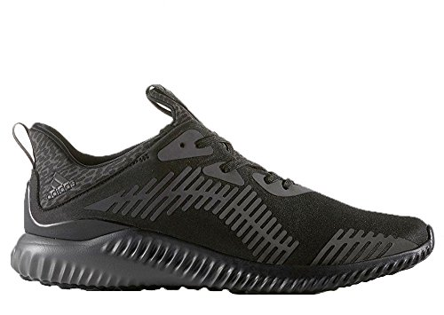 Adidas Men's Alphabounce Running Shoe Black B39074 (11.5 D(M) US, Black, Dark Grey)