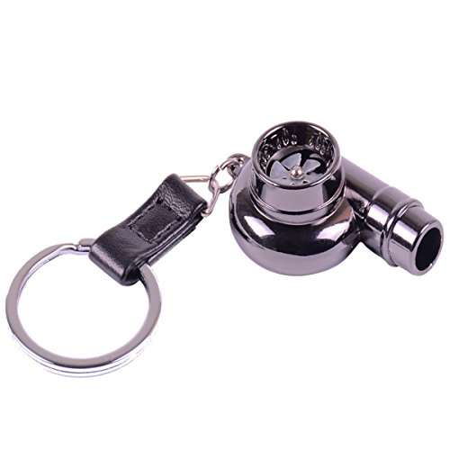 XINDELL Turbo Whistle Keychain, Automotive Car Part