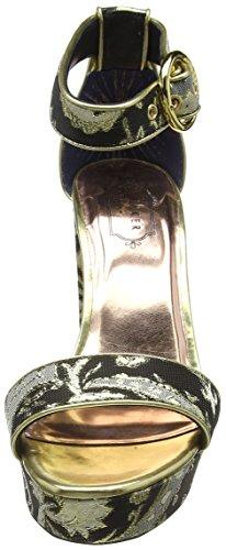Paisley Escarpins AF Ted Text Ornate Multicolore Paisley Bout Baker Jewll Femme Fermé f4Oq1