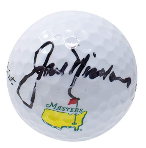 Jack Nicklaus Signed Masters Golf Ball BAS A60072