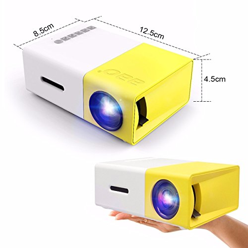 Mini projector elegiant portable 1080p led projector for Laptop pico projector