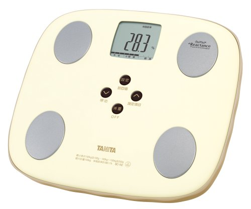 TANITA Body composition meter 【with NORU PITA function】 BC-752-LM (Honey lemon)