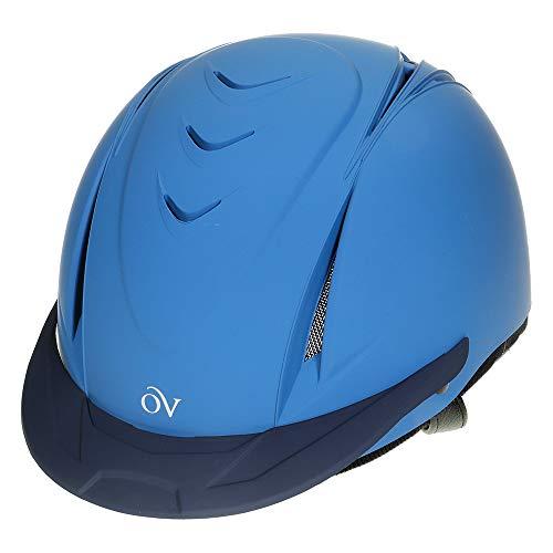 English Riding Supply Inc English Riding Supply Ovation Deluxe Schooler Helmet Blue XS/S from English Riding Supply Inc