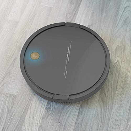Mdsfe Aspirateur Robot Intelligent USB de Charge ménage sans Fil Robot de Balayage dépoussiérage aspirateur de Cheveux - Blanc, A5