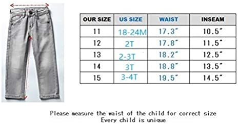 JIANLONG Fashion Stretch Skinny Fit Jeans for Boy Zipper Closure