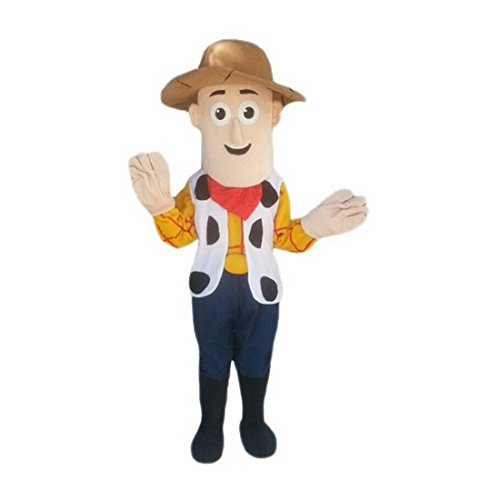 Woody Mascot Costumes (Toy Story Mascot Costume for Adults Woody (Large: (175-180)))
