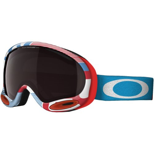 Oakley A-Frame Goggles, 1975 Red/Blue,Black - Frame Iridium A Black Oakley