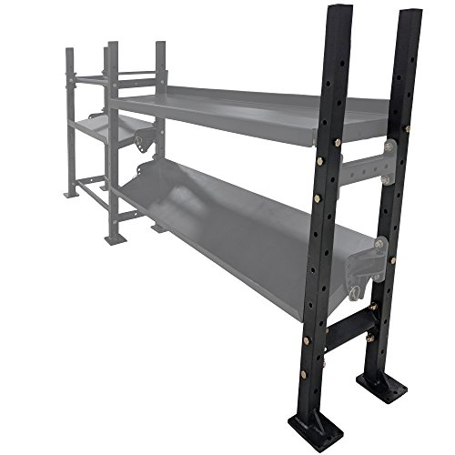 Titan Fitness Set of 2 45″ Uprights for Mass Storage System