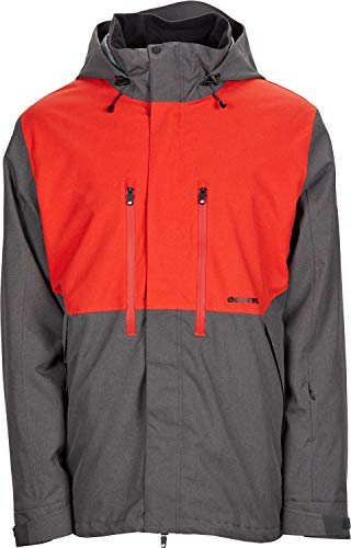 Bonfire Firma 3-in-1 Stretch Snowboard Jacket Battleship/Red Mens Sz L