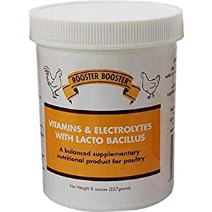 Rooster Booster Vitamins and Electrolytes with Lactobacillus 5
