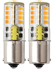 1156 gloeilamp 12V enkel contact, koud wit 6000K waterdicht ontwerp voor outdoor landschapsverlichting, enz. (2 stuks)