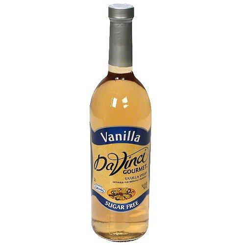 Da Vinci Gourmet Sugar Free Vanilla Syrup, 25.4 Oz (pack of 12) by DaVinci Baby