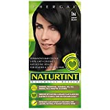 - Naturtint - Hair Dye - 1N Ebony Black | 135ml | BUNDLE by Naturtint