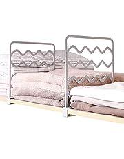 VINFUTUR 4 st garderob hyllavdelare garderob skiljevägg plast hyllavdelare separator för kläder ingen borrning garderob förvaring skiljevägg bräda