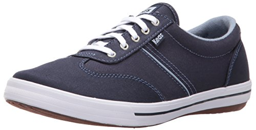 Keds Women's Craze Ii Canvas Fashion Sneaker, Navy, 6 M US