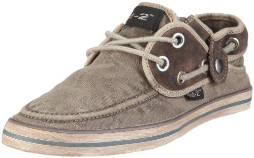 Nat-2 Skip 3 in 1 WS31WBG Unisex - Erwachsene Sneaker Grau/Brown Grey Washed