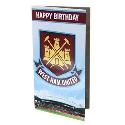 West Ham United Birthday Card