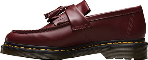 Dr Mens Martens Red Loafer Tassle Adrian YYASwxr