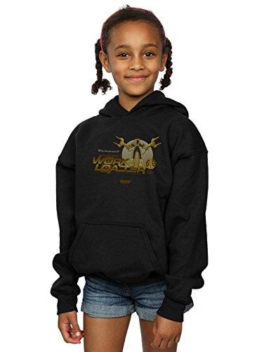 Price comparison product image Alex Chenery Girls Weyland Yutani Loader Hoodie Black 7-8 Years