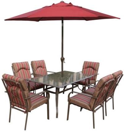 Amalfi rectangulaire Ensemble table à manger 6 places avec ...