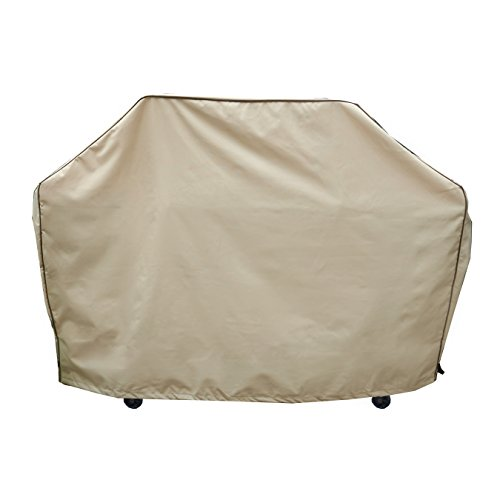 Seasons Select CVG01455 62-Inch Grill Cover, Medium, Almond For Sale