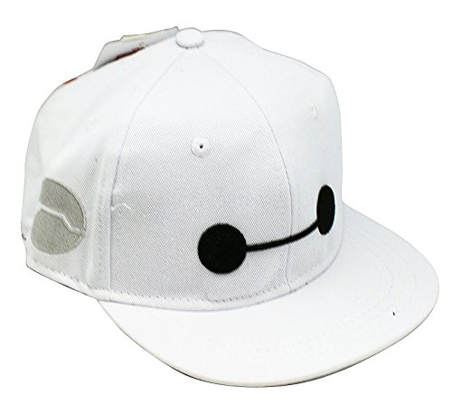 Big Hero 6 Baymax Face Youth White Snapback Hat - Buy Online in ... e641226969e
