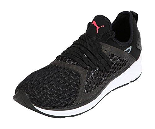 Puma Zapatillas de Running Ignite 4 Netfit Para Mujer, Negro, 34