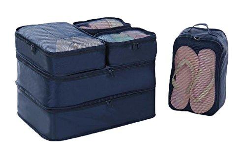 Multifunktions -Home Reise Kleidung Lagerung Kosmetik-Beutel-Beutel 6pcs