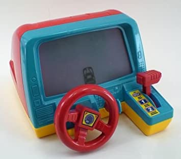 toy car steering wheel driving simulated kids driving game