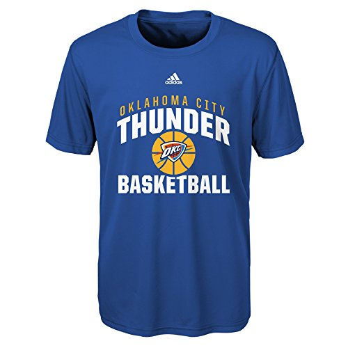 fan products of NBA Rep Big Performance Short Sleeve Tee-Strong Blue-M(10-12), Oklahoma City Thunder