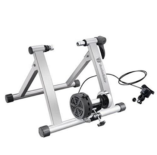 Hot Sale! Bike Lane Premium Trainer Bicycle Indoor Trainer Exercise Ride All Year by Polarbear's Shop