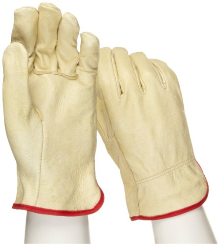 West Chester 994 Select Grain Pigskin Leather Driver Work Gloves: Straight Thumb, Small, 12 Pairs