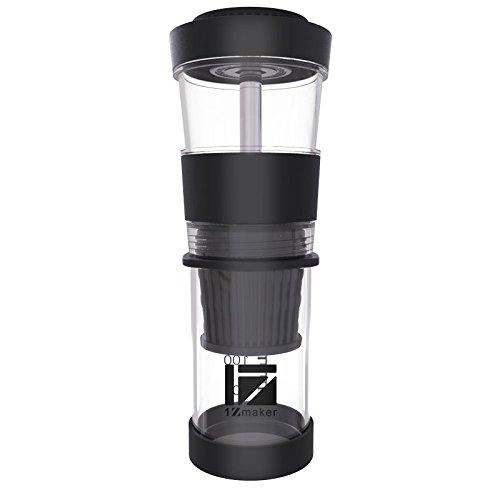 Zone - 365 Cafetera portátil de café, servir solo polvo ...