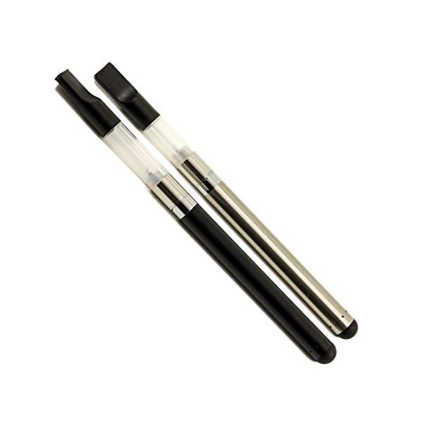 Starter Slimline Vape Pen Kit for CBD Oil (Silver, 1ml)