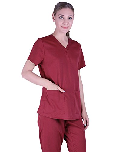 HDE Womens Medical Uniform Shirring