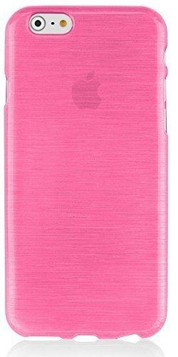 Housse en silicone Back Case Bumper Cover Coque pour téléphone portable Apple iPhone 6S Rose
