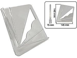 Silverline Zentrierwinkel Kapazität 200 mm