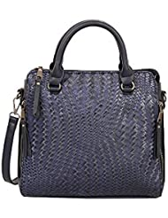 Mellow World Fashion Emma Satchel, Navy, One Size