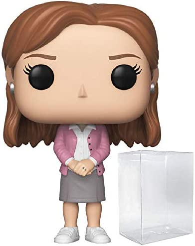 Funko TV: The Office - Pam Beesly Pop! Vinyl Figure (Includes Compatible Pop Box Protector Case)
