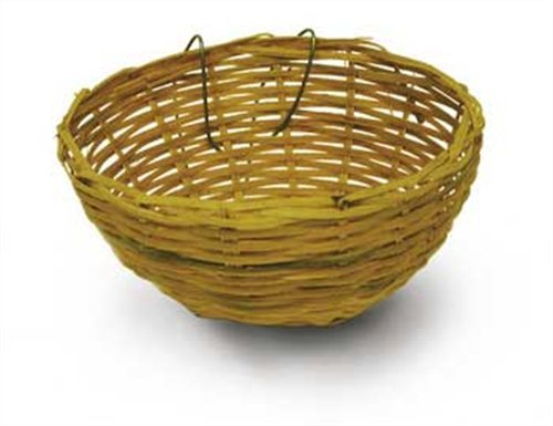 41qg5D UsOL - Kaytee Nature's Nest Natural Bamboo, Canary