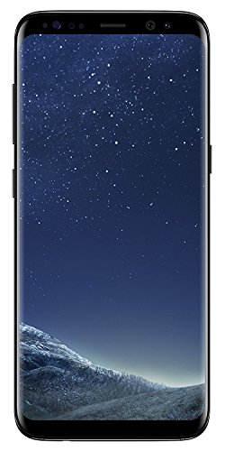 Samsung Galaxy S8 G950FD 64GB Midnight Black, Dual Sim, 5.8 inches, 4GB Ram, GSM Unlocked International Model, No Warranty (Iphone 7 Plus Touch Screen Not Working Properly)