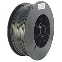 Proto-pasta HTP22830-CF High Temperature Carbon Fiber Spool , PLA 2.85 mm, 3 kg , Black from Protoplant INC