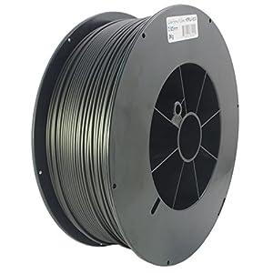 Proto-pasta HTP22830-CF High Temperature Carbon Fiber Spool , PLA 2.85 mm, 3 kg , Black from Protoplant INC