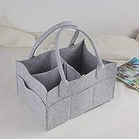Baby Diaper Wipes Bag Caddy Infant Nappy Organizer Basket Nursery Storage Polyester Bin Durable Practical Eco-Friendly