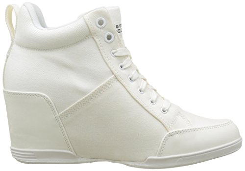 à Escarpins New Blanc White Plateforme Femme G Labour Wedge RAW 110 STAR wTWqFYB