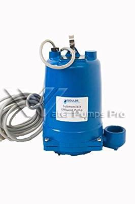 Goulds WE1512H Submersible Effluent Pump, 1-1/2 HP, 230 V